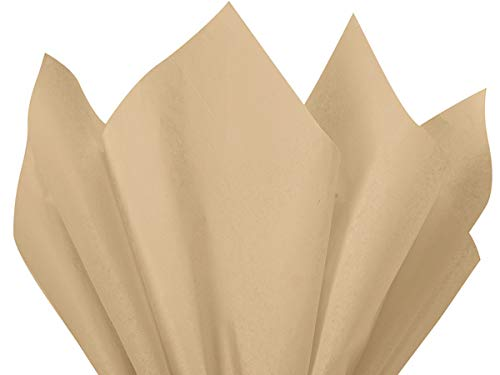 Brand New Parchment Off-White Ivory Bulk Tissue Paper 15 Inch x 20 Inch - 100 Sheets Flexicore Packaging® ()