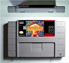 Earthbound - RPG Game Battery Save US Version - Game Card For Sega Mega Drive For Genesis