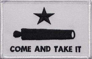 Come and Take It Gonzales Military Biker Embroidered Patch Iron Sew BSPM0899 by HighQ Store (Gonzales Store)