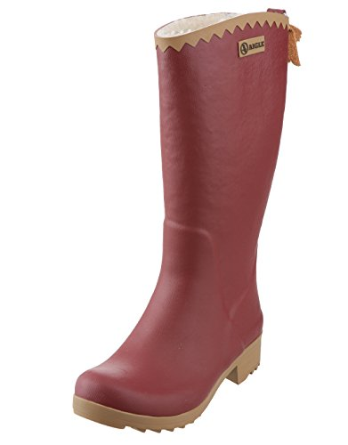 Aigle Damen Augustiner Fell Welly Stiefel – Imperial