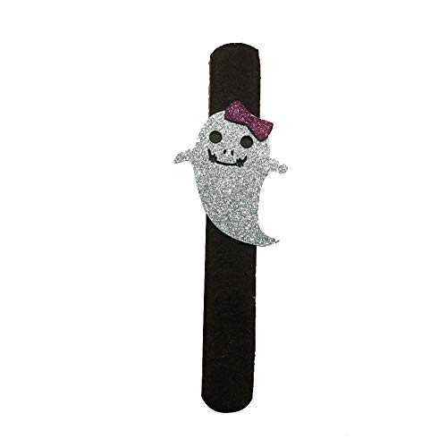 Gbell Kids Halloween Pat Hand Ring - Cartoon Pumpkin Spider Ghost Hand Ring Slap/Clap Bracelet Toys Decor for Children Toddler Boys Girls,1Pcs -