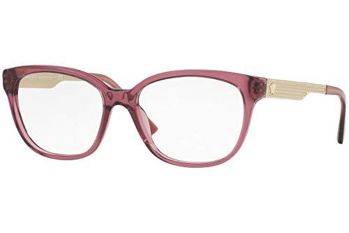 Versace VE3240 Eyeglasses 54-16-140 Transparent Violet w/Demo Clear Lens 5209 VE ()