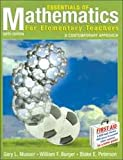 Essentials of Math for Elementary Teachers 6th Edition with Geometer Sketpad Student Version Set, Musser, Gary L., 047163154X