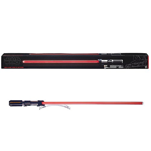 Space Related Halloween Costumes (Star Wars The Black Series Darth Vader Force FX Lightsaber)