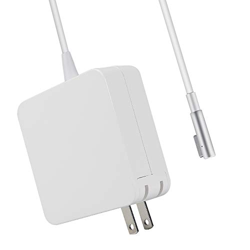 Vanzer Charger Replacement for MacBook Pro 15-inch & 17 inch 85W Magsafe 1 Magnetic L-Tip Power Adapter Charger(Before Mid2012)