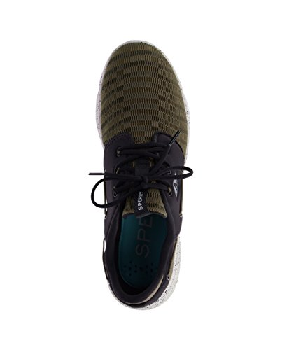 Seas Sperry eye Green Mesh sider da 3 7 Top uomo Olive Sneakers qwCtFw6Z