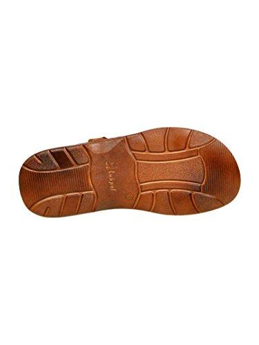 862 Braun Einlage Echtem Sandalen Lukpol Modell Orthopadischen der mit Aus Hausschuhe Buffelleder Schuhe Bequeme Herren 6wTqZOa