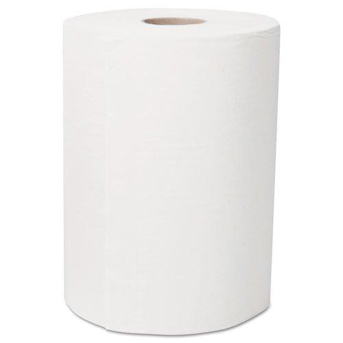 - Ultra Soft Slimroll Hard Roll Towel, 2-Ply, 7.87 x 262 ft, White, 6/Carton, Sold as 1 Carton, 6 Roll per Carton