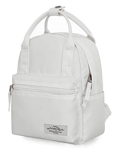 8811s Extra Mini Backpack Purse Cute for Women, White
