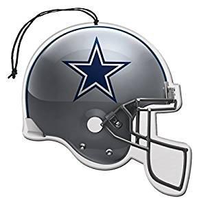 Dallas Cowboys NFL Team Logo Car Truck SUV Home Office Paper Air Freshener - 3 PACK SET