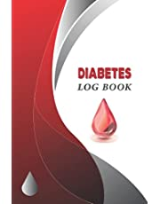 Diabetes Log Book: (Two Years) Daily Glucose Tracker   6x9 Blood Sugar Level Recording Book   Diabetic Diary