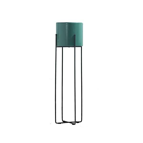 RANRANJJ Stile del Fiore Nordic Porta TV Anteriore Corridoio Impianto Allestimento Stand Rack Struttura Stabile Facile… 1 spesavip