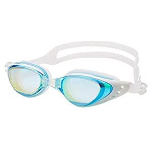 Aquazone Adjustable Swimming Goggles Premium UV 400 Protection-Anti Fog Swim Goggles-Free Case-Great Adult, Men's, Women…