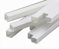 10x ABS Styrene Plastic Rectangular Squa...