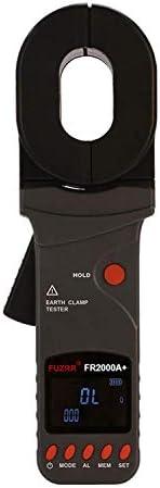 Gulakey 200ohmへのループ抵抗試験範囲とFR2000A +クランプ接地抵抗テスター