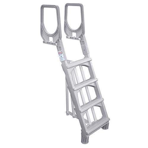 MAIN ACCESS 200700T Comfort Incline Ladder for Above Ground Swimming Pools