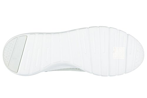 Emporio Armani EA7 scarpe sneakers uomo nuove originale simple racer grigio
