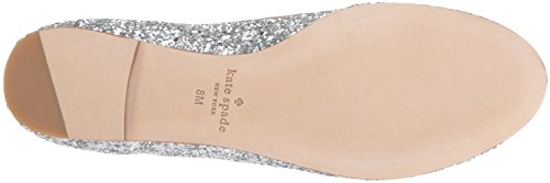 Kate Spade New York Femmes Willa Ballet Plat Argent