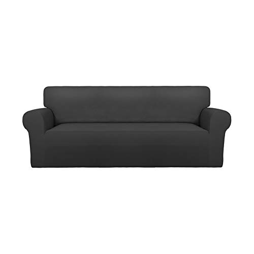 PureFit Super Stretch Chair Sofa Slipcover – Spandex Non Slip Soft Couch Sofa Cover, Washable Furniture Protector with…