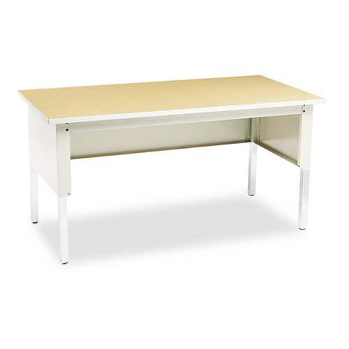 Mailflow Systems - Mayline TB60PG Mailflow-to-Go Mailroom System Table, 60w x 30d x 36h, Pebble Gray