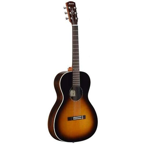 - Alvarez Jazz & Blues BLUES51WE 6-String 12th Fret Arch Back Semi-Acoustic Guitar, 20 Frets, Mahogany Neck, Pau Ferro Fingerboard, Solid A+ Sitka Spruce Top, Gloss, Tobacco Sunburst