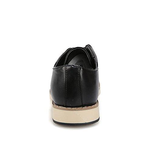 Oxford Plano Azul EU 2018 hasta Zapatos para Hombre Color 44EU 40 de shoes Fang Negro Hombres tacón tamaño Zapatos qXT6x8qw