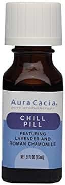ESSENTIAL OILS AURA CACIA  - Chill Pill - Net Wt .5 FL oz.(15 ml)