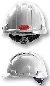 JSP ahu150 - 000-100 casco MK8 aireable blanco [1] (certificado personificación): Amazon.es: Bricolaje y herramientas