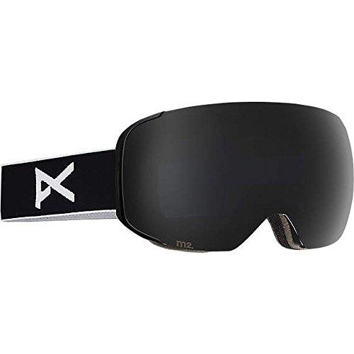 Anon M2 Snow Goggles Black With Polarized Smoke & Blue Lagoon Lens