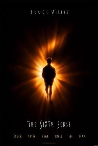 Poster of The Sixth Sense 1999 Full Hindi Dual Audio Movie Download BluRay 720p