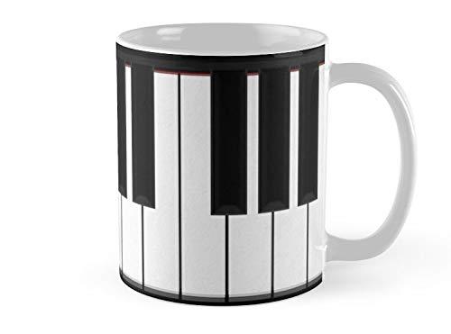 Land Rus Mug Piano Keys Mug - 11oz Mug - Features wraparound prints - Dishwasher safe - Made from Ceramic - Best gift for family friends