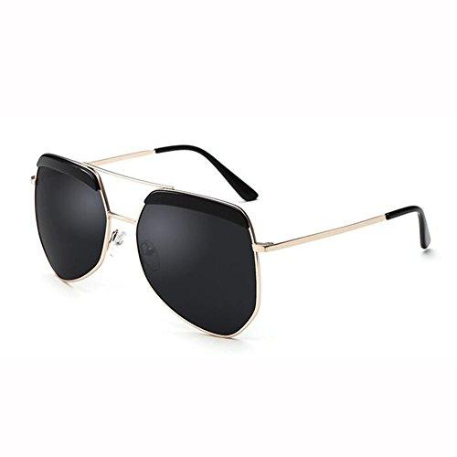 Polarizada De Hormiga De WX Gafas T3 Gafas Color Sol Hipster Grande Masculino Montura Irregulares Hembra T3 xin Luz Gafas F5X5wqt