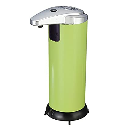 Bluelover Control Infrarrojo De Dispensador Automatico De Jabon De Acero Inoxidable - Verde