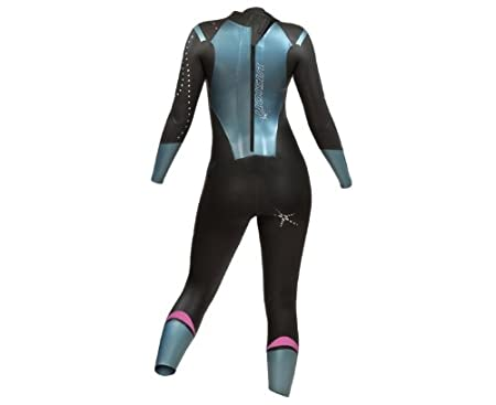 Zone3 Women s Vision Wetsuit XS   Black Turquoise  Amazon.co.uk  Sports    Outdoors 1e0b4d7ae