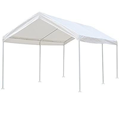Snail 10 X 20 ft Heavy Duty All-Purpose Water-resistant Outdoor Domain Carports Portable Auto Car Canopy Garden Instant Shelter