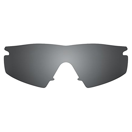 Revant Polarized Replacement Lenses for Oakley M Frame Strike Elite Black Chrome MirrorShield