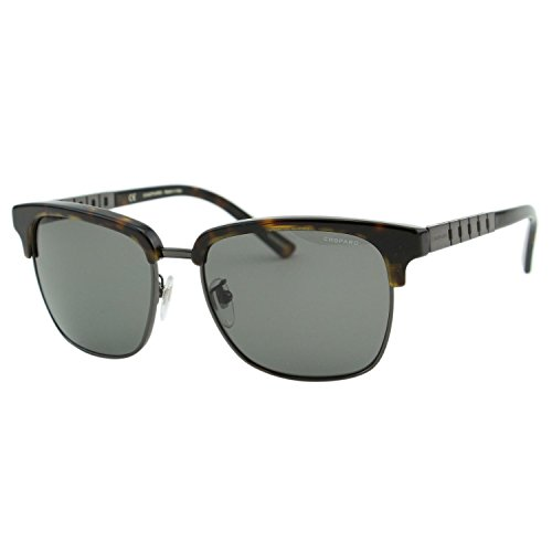 Chopard G.P.M.H. SCH-B30 Men Dark Brown & Titanium Polarized Square - H&m Sunglasses Mens