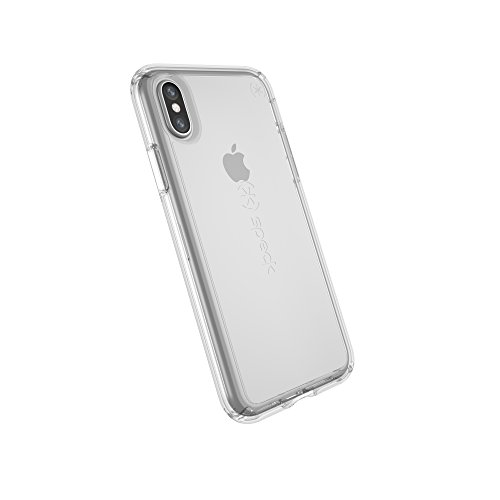 Speck Products Gemshell Case, iPhone XS/iPhone X Case - Clear/Clear
