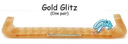 Guard Dog Universal Ice Skate Guards - Hard - Gold Glitz ()