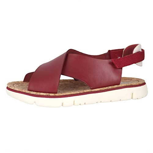 Camper Women's Oruga - K200157 Medium Red 35 B EU (Camper Shoes Women 35)
