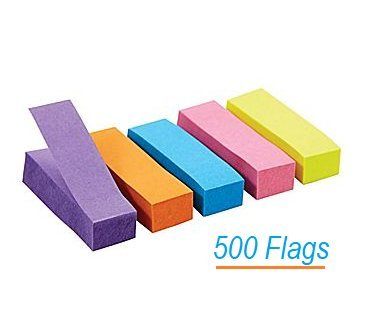 0.5 Flags - 1InTheOffice Page Markers, 1/2