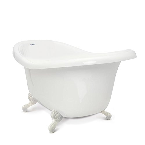 American Bath Factory CC-SC-A-WH, Chelsea Collection Slipper Tub Package