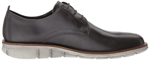 Ecco Mens Jeremy Hybrid Tie Oxford Moonless