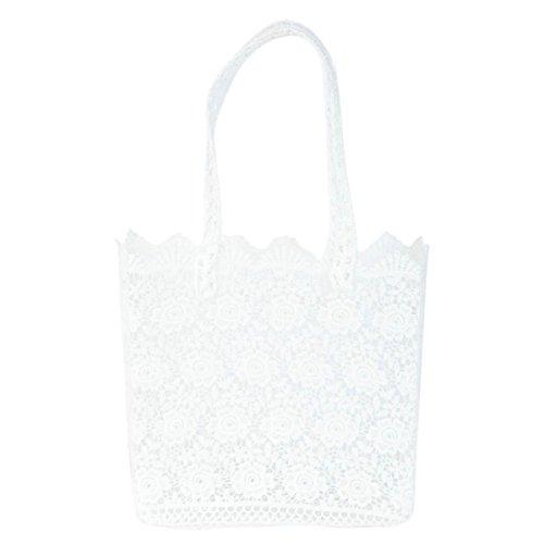 03150468124dd Clayre Eef CR0149 Tasche Stofftasche Beutel Stoffbeutel Tragetasche weiß ca  31 x 13 x 29 cm