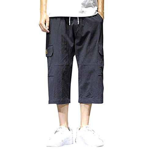 - Men's Casual Cargo Shorts Cotton Twill Multi Pockets Outdoor Pants