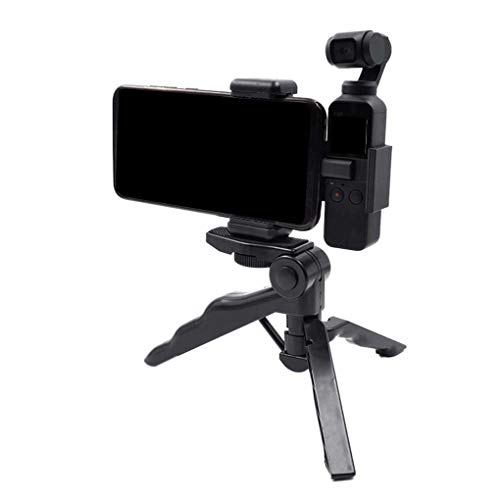 (Riverlily Compatible for DJI OSMO Pocket Accessories Palm Camera Handheld Phone Holder Tripod Mount Stand)
