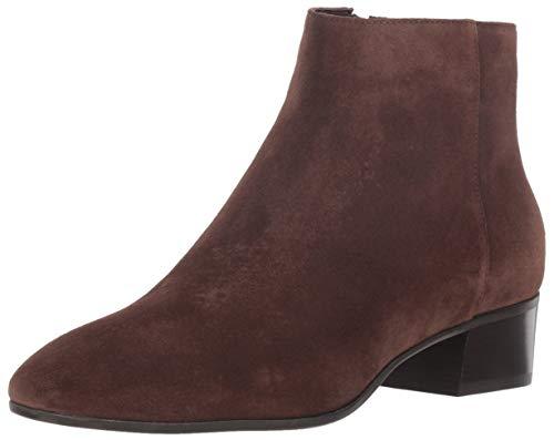 Aquatalia Women's Fuoco Suede Ankle Boot, Espresso, 8 M US
