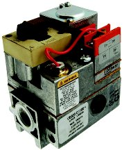 Honeywell VS820C1100 Step Opening Power Pile Millivolt Combination Gas Valve