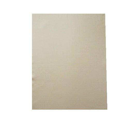 ボックスシーツ ダブルロング 超長綿 綿サテン織 140x210x30 日本製 210丈ロングサイズベッド用 綿 100%】 (ベージュ) B01ILXEMN8 ベージュ