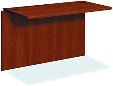 HON 10700 Series Desk Bridge, Cognac